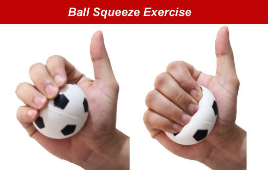 ball squeeze exercise