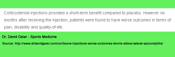 cortisone injections fail