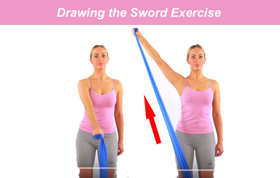 drawing sword exercise