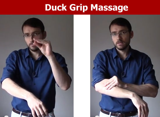 duck grip massage
