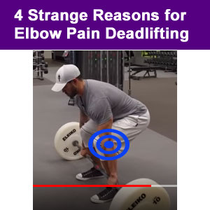 elbow pain from deadlifting