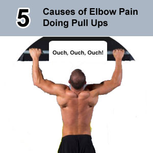 elbow pain doing pull ups