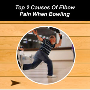 elbow pain from bowling