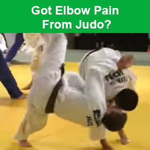 elbow pain from judo