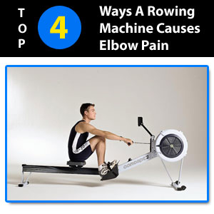 elbow pain from rowing machine