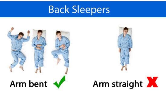 back sleepers