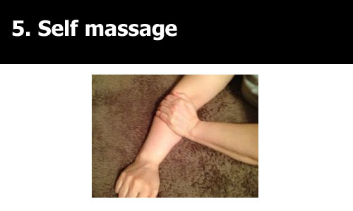 massage for tennis elbow cure