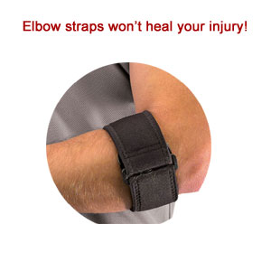 treating tennis elbow strap