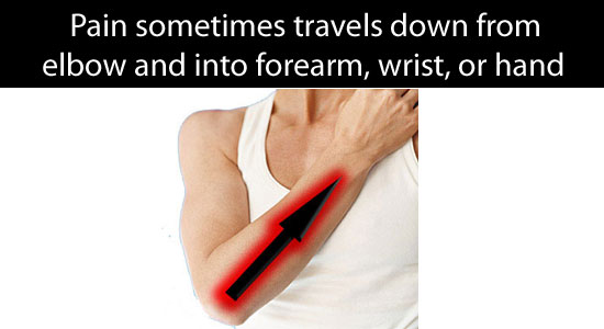 forearm pain symptoms