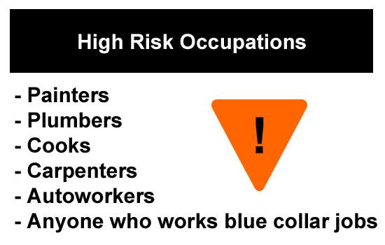 high risk jobs