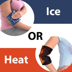 ice or heat for tennis elbow