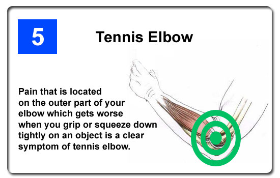 pain of tennis elbow