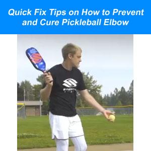 pickleball elbow tips