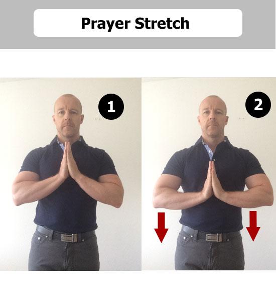 prayer stretch
