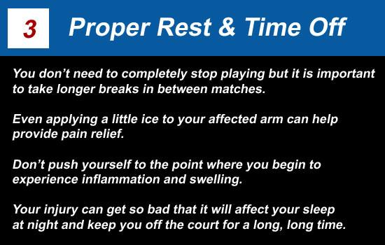 proper rest time off