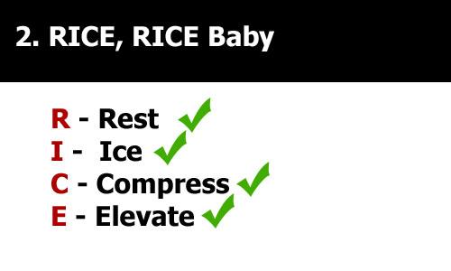 rice techniques tennis elbow