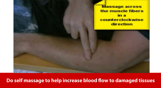 massage for mouse elbow