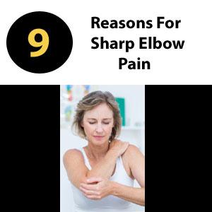 sharp elbow pain