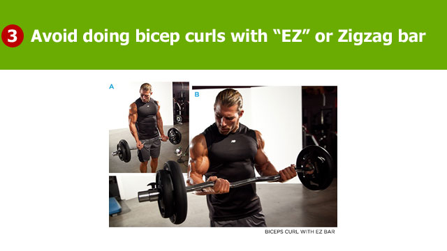 avoid ez curl bar