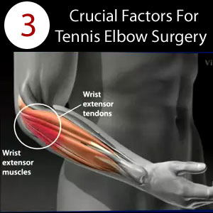 surgery for tennis elbow