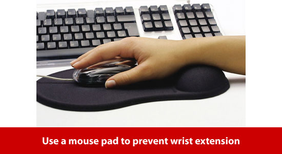 use mouse pad
