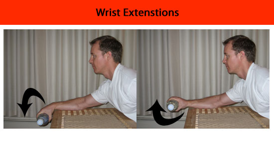 wrist extension exercise